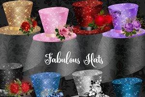 Fabulous Hats Clipart