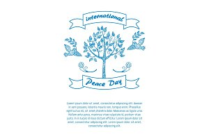 International Day of Peace Promotional Poster