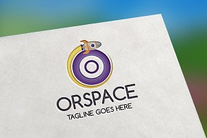 Orspace (Letter O) Logo