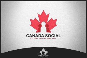 Canada Social Logo