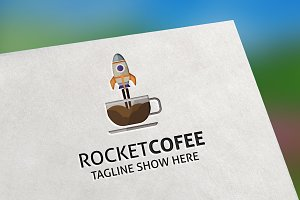 Rocket Cofee Logo