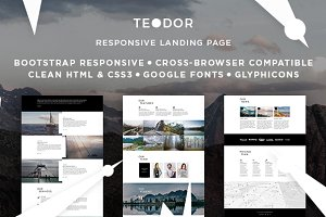 Teodor - Bootstrap Landing Page