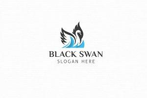 Black Swan Logo Template
