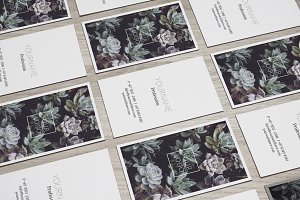 Nature Business Cards Template