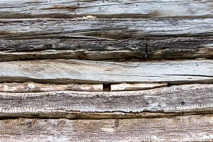 Rustic old wooden wall