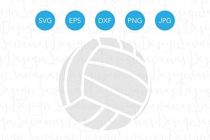 Volleyball Vector SVG EPS DXF PNG