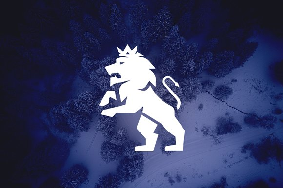 Royal King Lion Logo