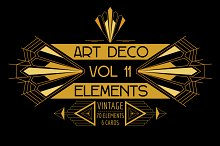 76 Art Deco Elements Vol.11