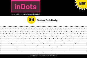 inDots - Preset Strokes 4 inDesign