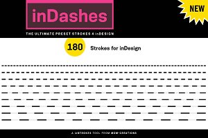 inDashes - Preset Strokes 4 inDesign