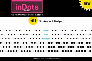 inDots Pairs - Strokes 4 inDesign