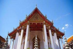 Thai temple.