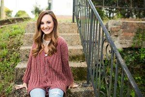 Girl in Sweater