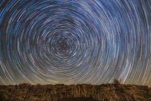 Bridge of stars, stars in motion