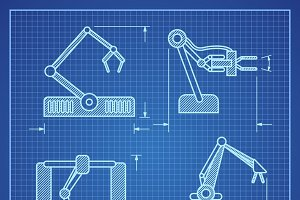 Project blueprint robotic arm