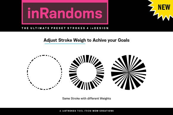 inRandom - Preset Strokes 4 inDesign