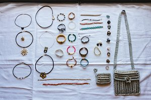 Collection vintage jewel
