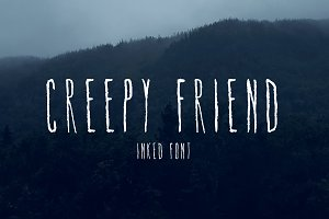 Creepy Friend Font