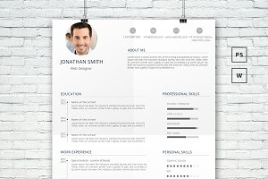 Professional Word Resume