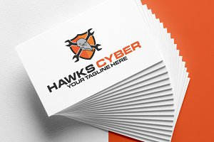 Hawks Cyber Security Logo