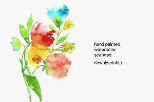 Watercolor Painting Downloadable