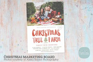 IC043 Christmas Marketing Board