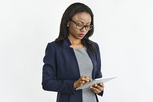 African descent business woman