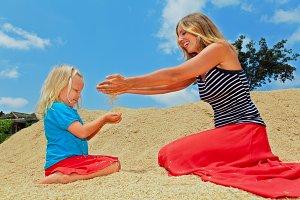 Fun with grain crop