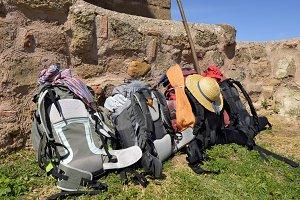 backpacking of pilgrims