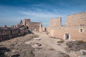 Gormaz castle in Soria