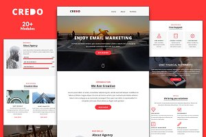 Credo Email Template + Builder
