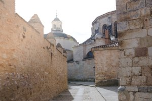 Street in Burgo de Osma