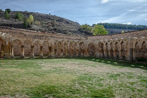 Cloister monastery of San Juan Duero