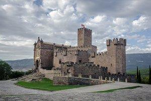 Javier castle in Navarra