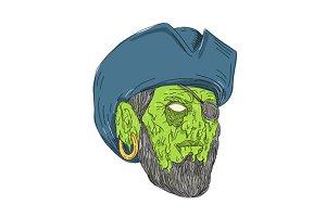 Buccaneer Pirate Grime Art
