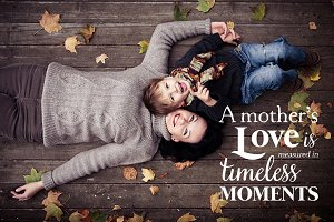 Mother Word Quote Overlay Photo