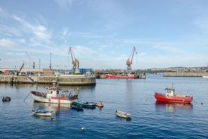 Santurtzi port