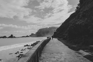 Ondarroa beach