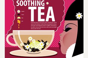 Recipe of soothing tea