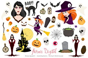 Halloween Clipart Graphics