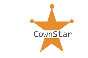 Crownstar Logo Template