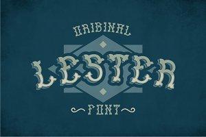 Lester Vintage Label Typeface