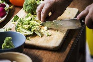 Cooking vegetable