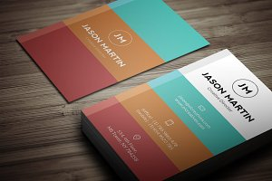 Creative Minimal B usiness Card