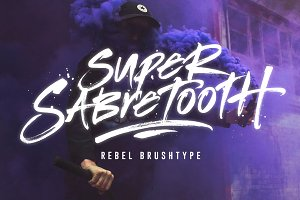 Super Sabretooth Brushtype
