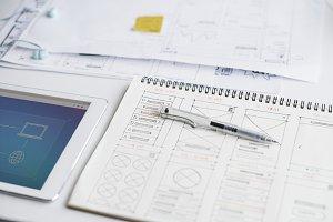 Web layout content design