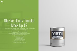 10oz. Yeti Cup / Tumbler Mock-Up #2