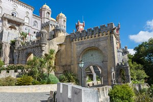 Da Pena Palace in Sintra