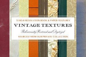 31 Vintage Book & Paper Textures