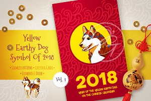 Chinese New Year Cards. Vol.1